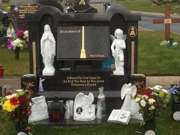 Custom Headstones memorials donegal