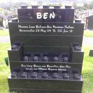custom headstones child memorial