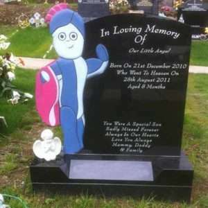 custom child headstone donegal