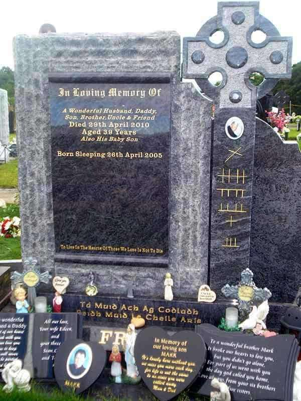 custom headstone donegal derry