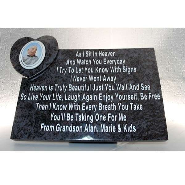 Donegal headstone memorial plaques