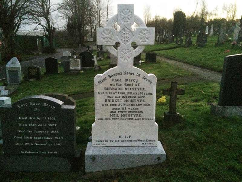 headstone memorial resoration