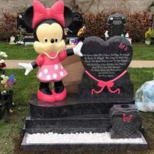 Minnie Mouse Headstone
