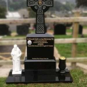 Headstone cross derry
