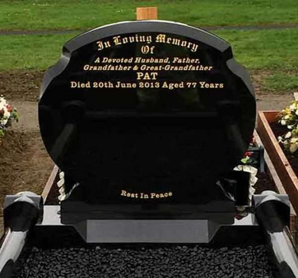 Lawn Memorial Curved