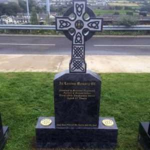 Celtic Cross Headstone