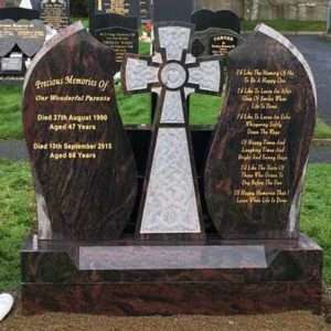 Headstone Cross centre piece