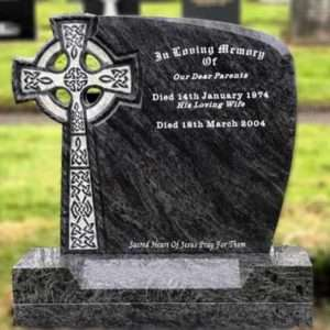 Headstone Celtic Cross
