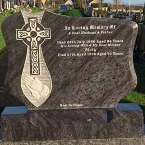 custom headstone memorial ireland