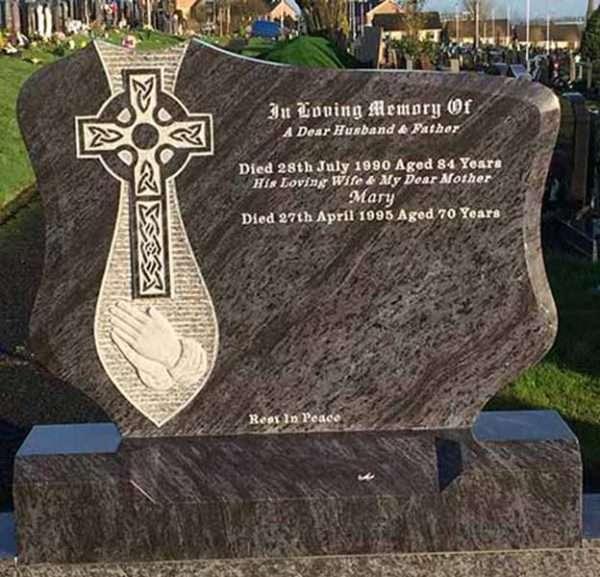 custom headstone memorial ireland