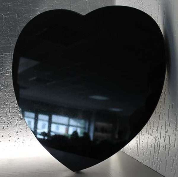 heart plaque memorial accessory