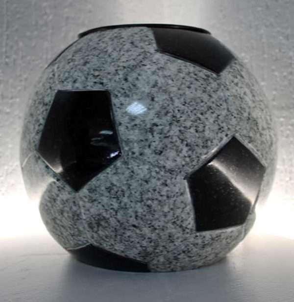 memorial vase football