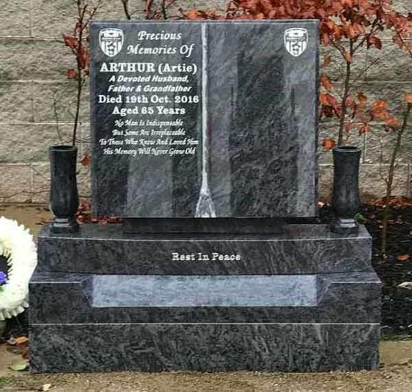 donegal memorial headstone book design