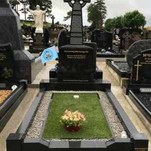 custom surround headstones