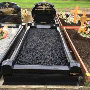 custom surround headstones