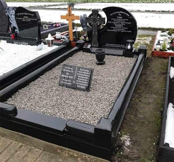 Celtic Arc headstone