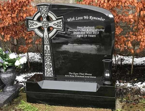 celtic mist headstone