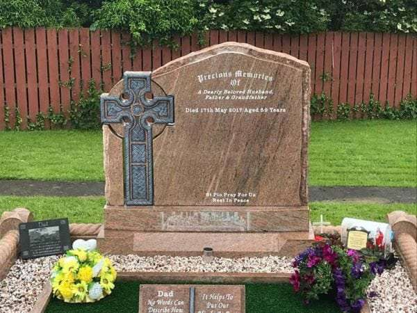irish celtic headstones donegal derry