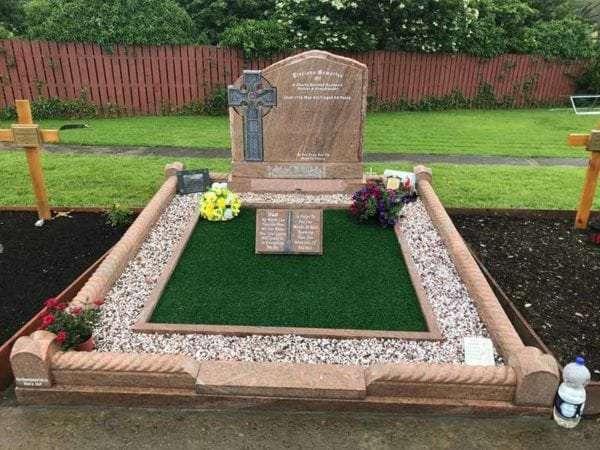 irish celtic headstones donegal derry