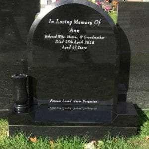 roundtop headstone ireland