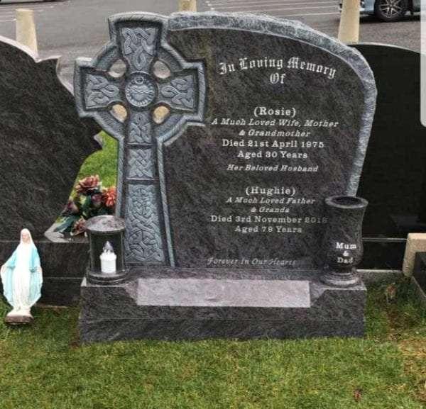 Celtic Headstones Memorials