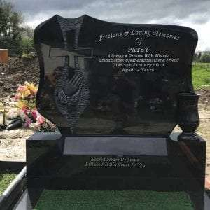 granite headstones derry