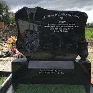 granite headstones derry