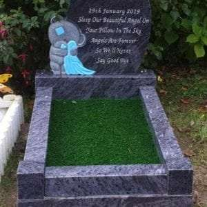 Tedy Bear Childrens headstone
