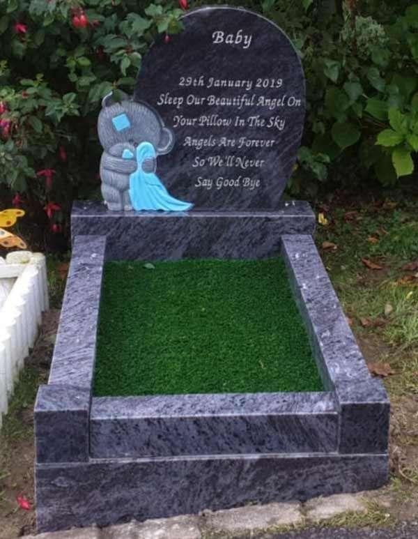 Tedy Bear Childrens headstone
